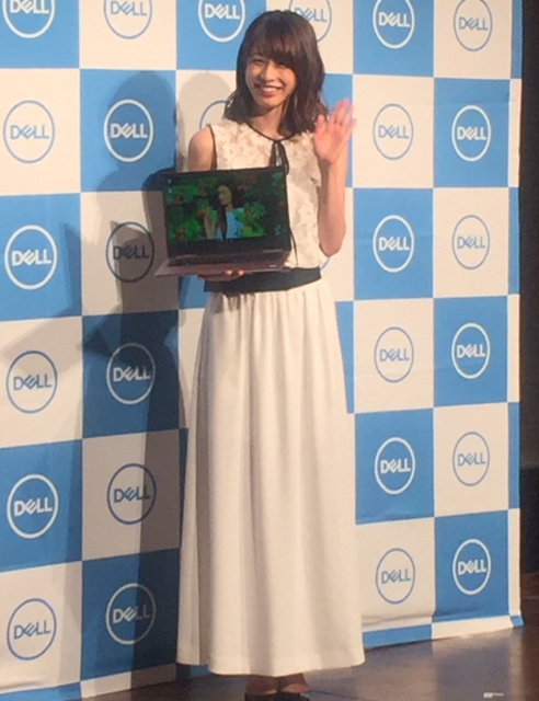 DELL×加藤綾子さん撮影会